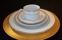 GOLD TRIM CHINA