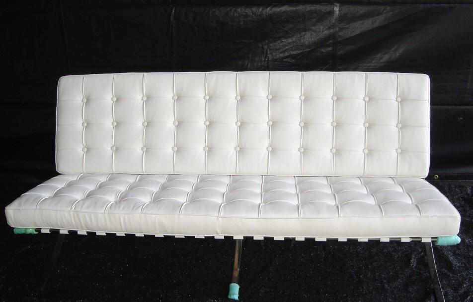 Barcelona sofa white for Sofa barcelona couch